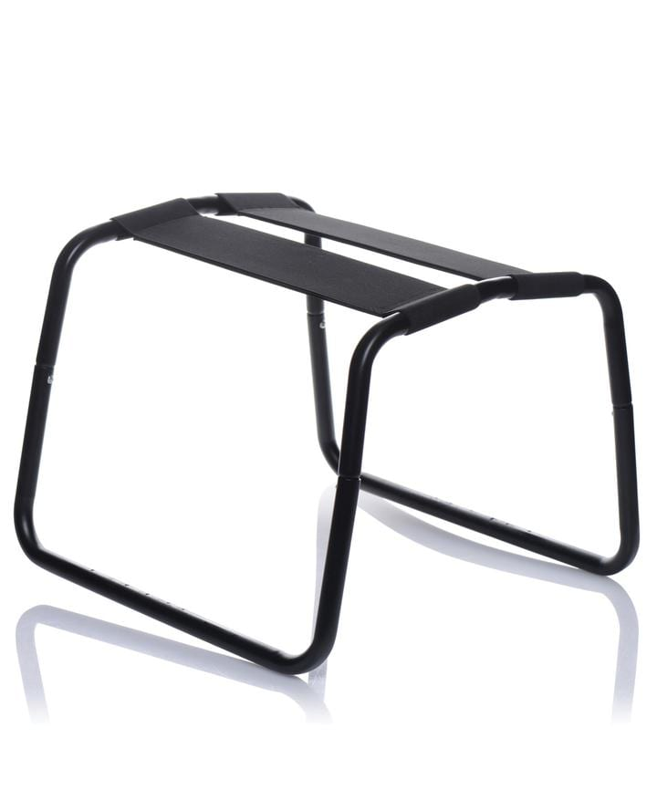 LoveBotz Bangin Bench Extreme Black Sex Stool
