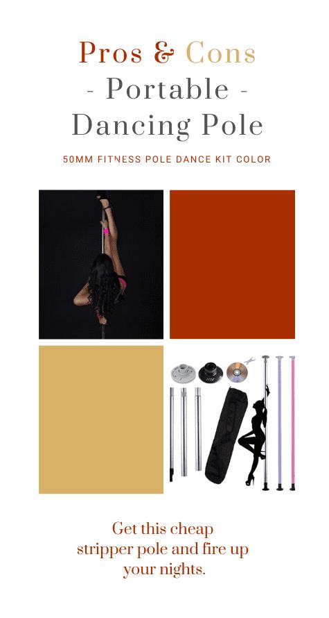 TheLAShop fitness pole dance kit