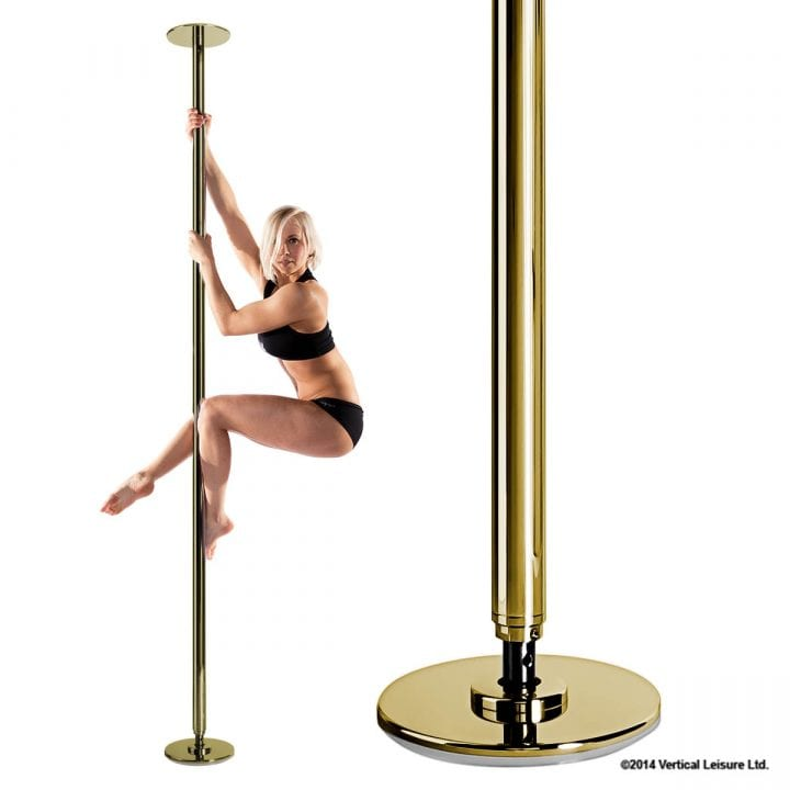X-Pole Sport Gold striptease
