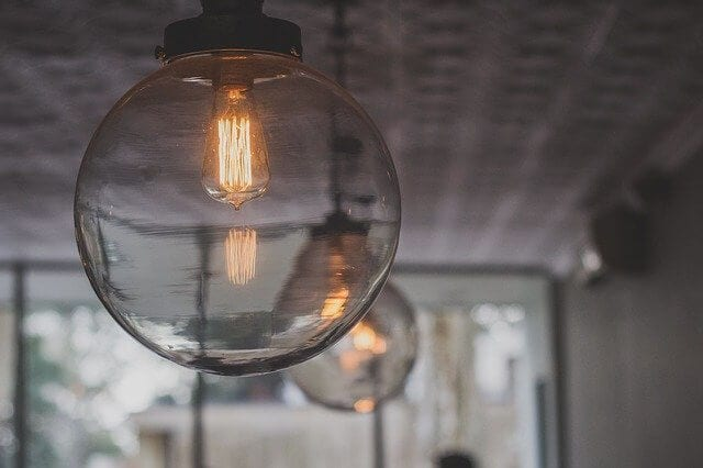 Decorative light bulb working