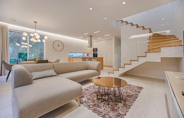 Interior design of an elegant house