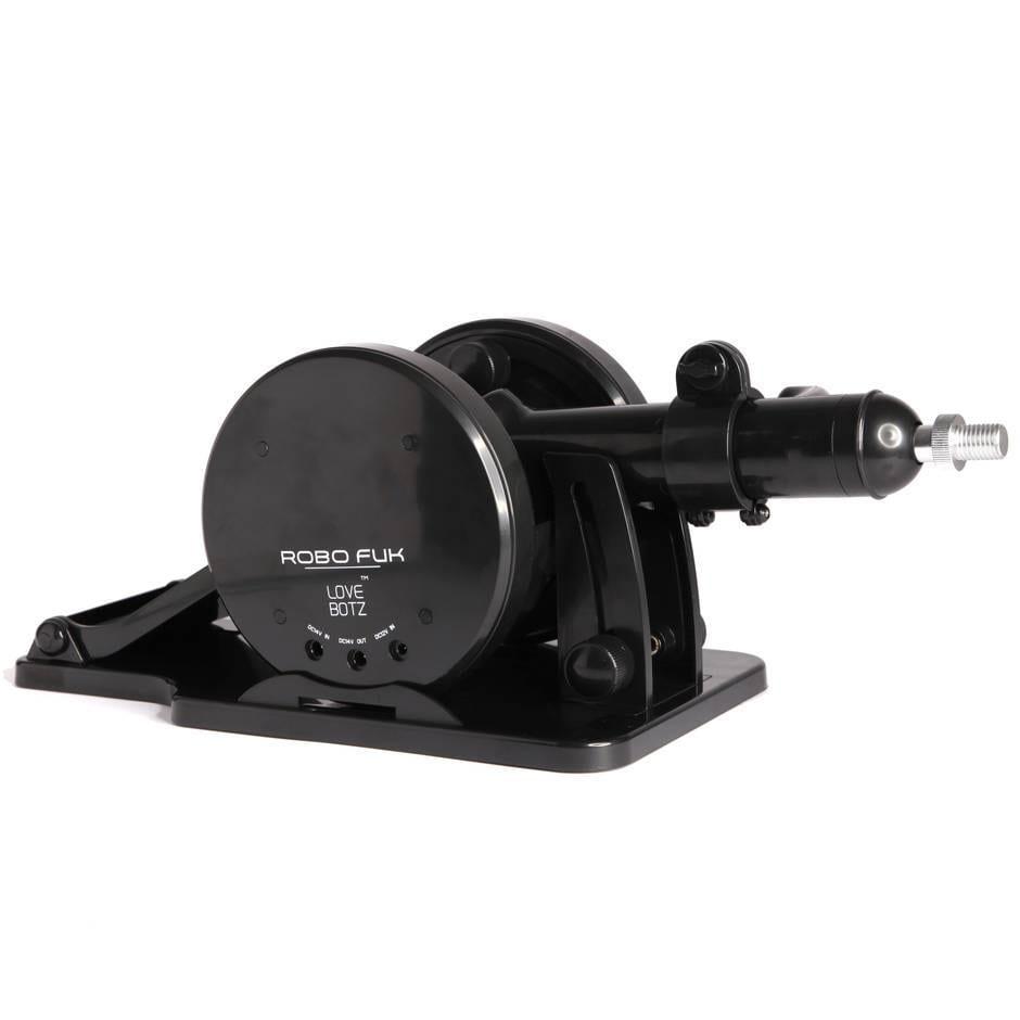 Robo Fuk Adjustable Unisex Thrusting Sex Machine black without adult toy
