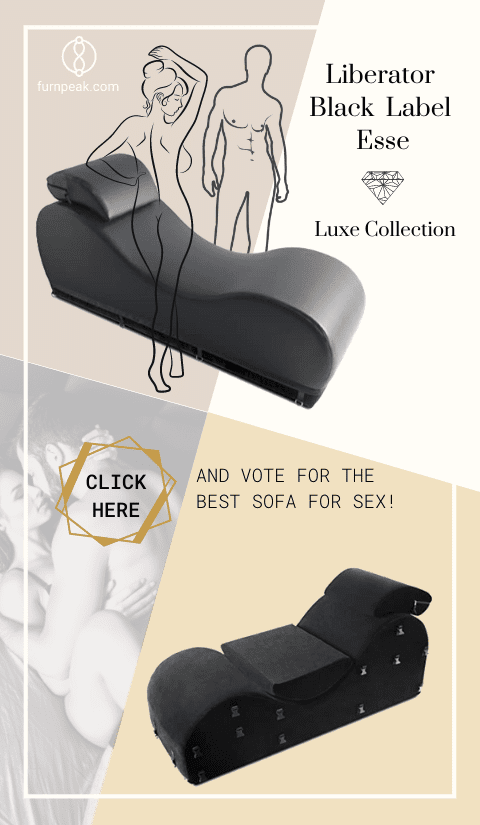Liberator Black Label Esse Sex Chair