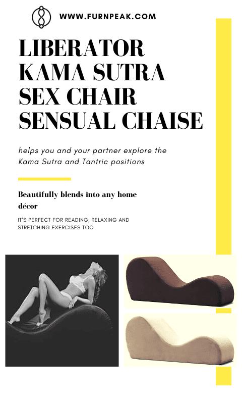 Liberator Kama Sutra Sex Chair Chaise Sensual