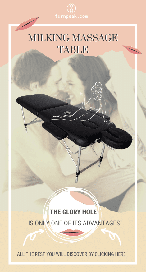 Lightweight Milking Massage Table