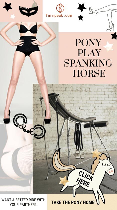 Pony Play Spanking Horse Sex Table