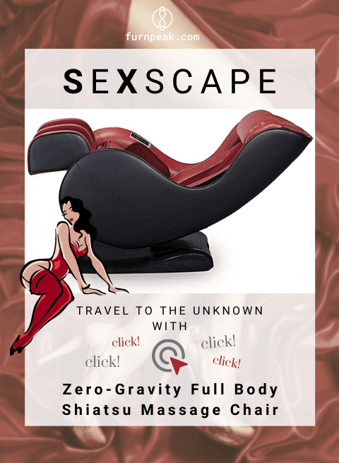 Zero-Gravity Full Body Shiatsu Massage Sex Chair
