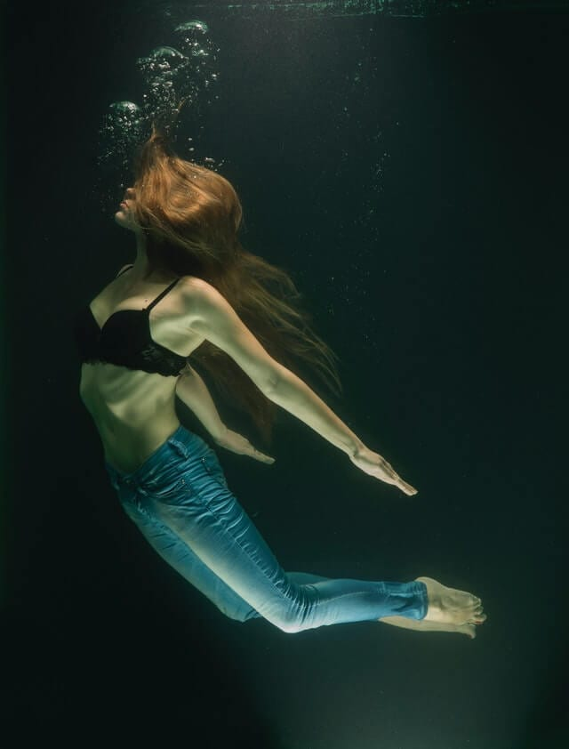 girl swimming in jeans sex transmutation