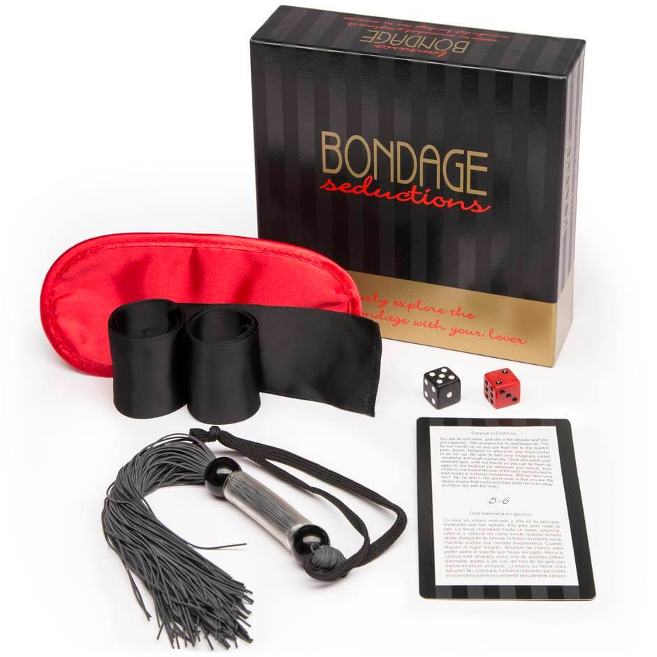 Bondage Seductions Sex Game box