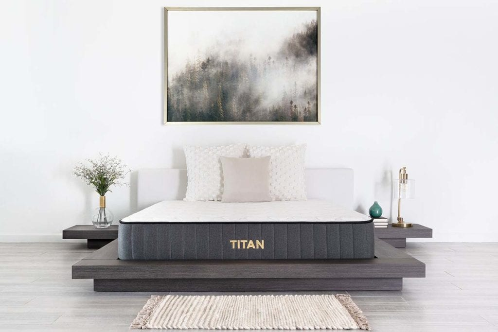 titan mattress for heavy couples