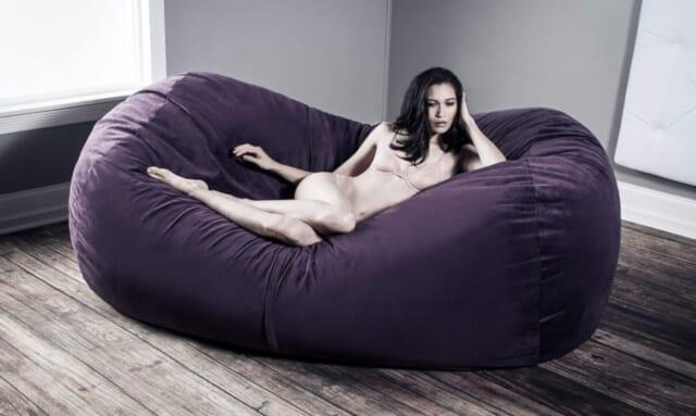 Liberator Zeppelin Lounger big pillow