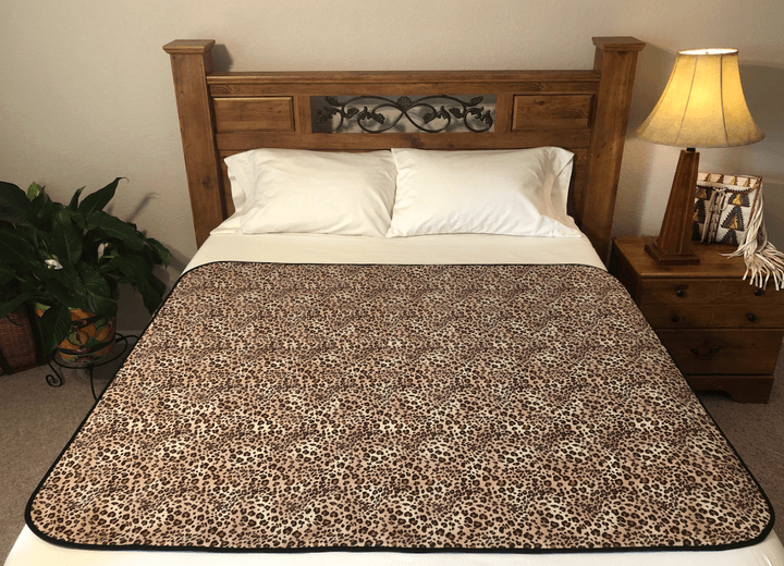 Organic Cotton Flannel Wild Venus throw Mat unique bedding for bedroom