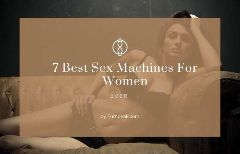 Best sex machine for women