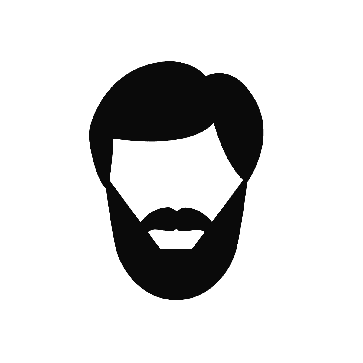 man with a beard icon