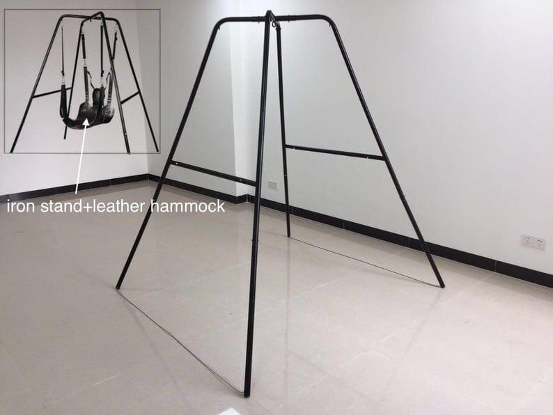 Sturdy Universal Sex Swing Metal Stand and Hammock
